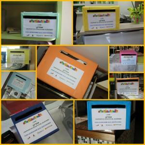 collage scatole minime