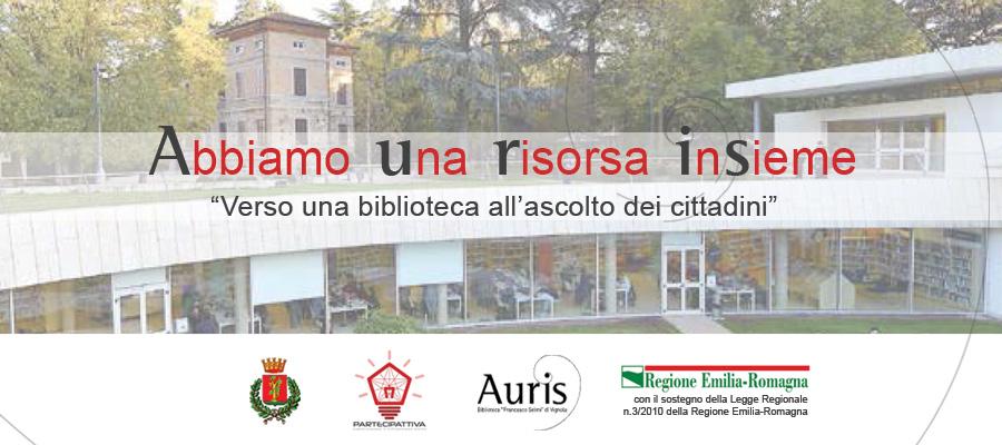 Abbiamo Una Risorsa InSieme - Biblioteca Auris